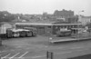 An overview of Haverfordwest depot, including (right) Leyland Leopard PSU3A/Marshall B51F 508 (PKG 629G), ex-Western Welsh.