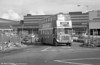 1964 AEC Regent V/Weymann H39/32F 592 (425 HCY)  standing on what is now part of West Way, Swansea.