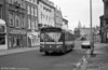 Leyland National/B52F 725 (NWN 725M) in Wind St., Swansea. This vehicle was severely damaged in an accident at Llanelli in January 1980 and had spent 6 months out of traffic.