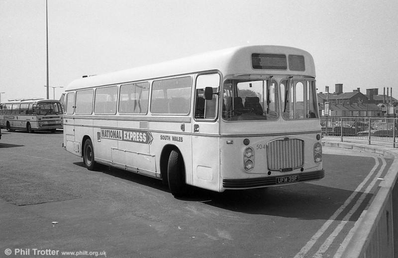 Ex-Crosville 504 (UFM 39F), Bristol RELH6G/ECW C47F.