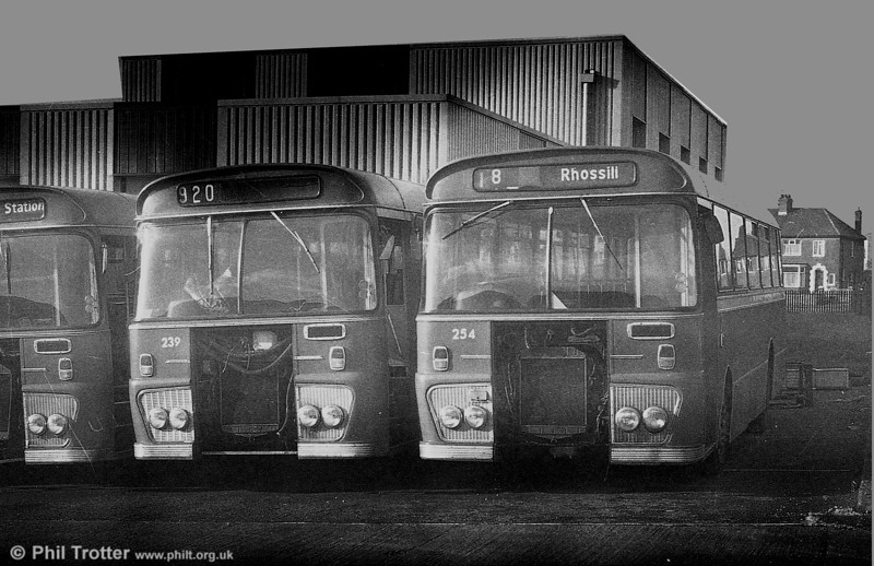 Ford R1014/Willowbrook B45F 239 and 254 (RWN 239M and TCY 254M ) at Ravenhill.