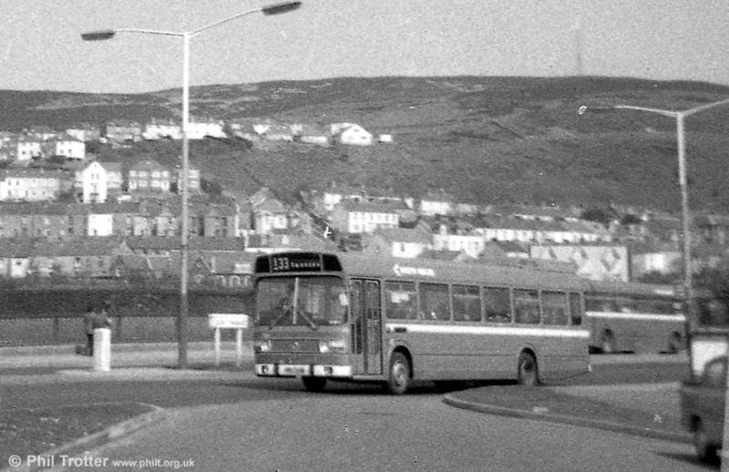 An early Leyland National/B52F at Fabian Way.