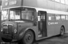 AEC Regent V/Willowbrook H37/27F 820 (CCY 990C) at Llanelli depot, as towing bus 62.