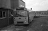 AEC Reliance/Marshall DP41F 204 (KKG 204F), ex-Western Welsh, in use as a towing vehicle at Neath.<br /> The known status of AEC Reliances 201-215 at 1st March 1980 was:<br /> 201 Withdrawn, Pontardawe.<br /> 202 ?<br /> 203 Withdrawn, Pontardawe.<br /> 204 Ravenhill, for conversion to recovery vehicle.<br /> 205 ?<br /> 206 ?<br /> 207 Withdrawn, Neath.<br /> 208 ?<br /> 209 In service.<br /> 210 Ravenhill, for attention.<br /> 211 Withdrawn, Neath.<br /> 212 Withdrawn, Neath.<br /> 213 In service, Port Talbot.<br /> 214 Recertified, in bus livery, at Ravenhill.<br /> 215 Recovery vehicle, Port Talbot.
