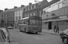 1981 Bedford YMQ/Duple B43F 291 (FCY 291W) at Neath.