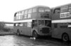 AEC Regent V/Willowbrook H39/32F 572 (12 BWN) at Neath after withdrawal.