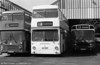 The unique Daimler Fleetline/MCW CO44/32F 864 (KUC 220P). This conversion was acquired from LT (DM1220) in 1984.