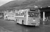 AEC Reliance/Marshall DP41F 214 (KKG 214F), ex-Western Welsh, at Port Talbot.