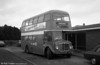 AEC Regent V/Willowbrook H37/27F 861 (CCY 981C) at Cefn Coed Hospital.