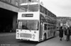 In 1981, Bristol VRT 940 (VTH 940T) was repainted in an allover advertisement livery for National Express/National Holidays. It was first put on public view at a special National travel promotional day held at Swansea's Quadrant Bus Station on 16th May, as seen here.