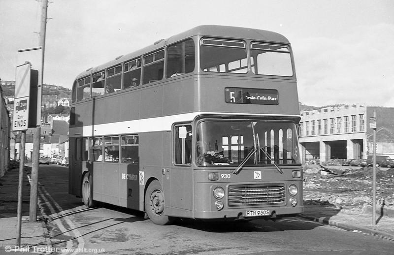 Bristol VRT SL3/ECW CO43/31F 930 (RTH 930S) at Swansea.