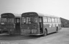 Ford R1014/Willowbrook B45F 257 (TCY 257N) at Port Talbot.