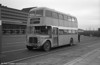AEC Regent V 564 (999 BCY) a 1962 2D3RA model with Willowbrook H39/32F body, converted for use as a training vehicle. Seen at Swansea during the final tour of February 27th 1982.