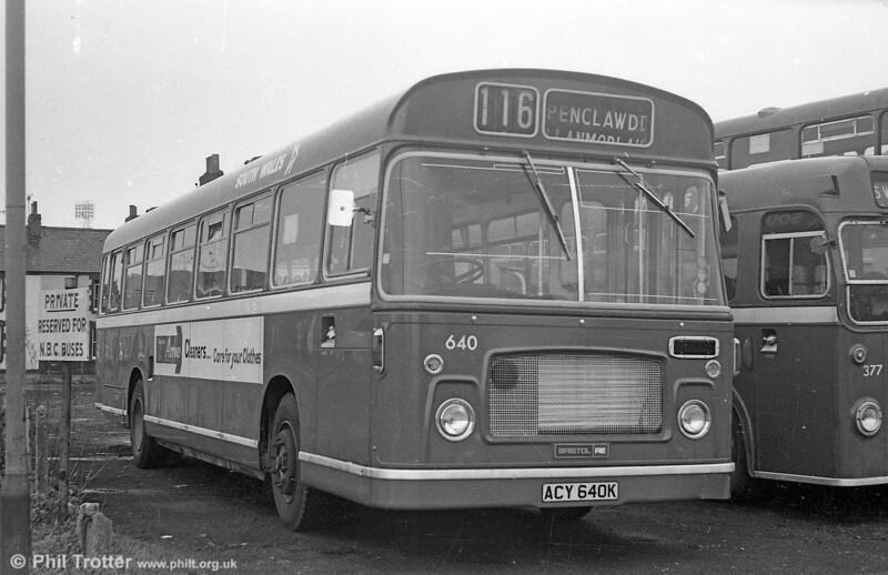 Bristol RELL6G/ECW B53F 640 (ACY 640K) .