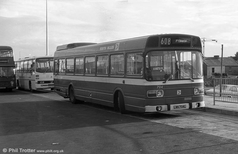 704 (LWN 704L), a Leyland National B52F.