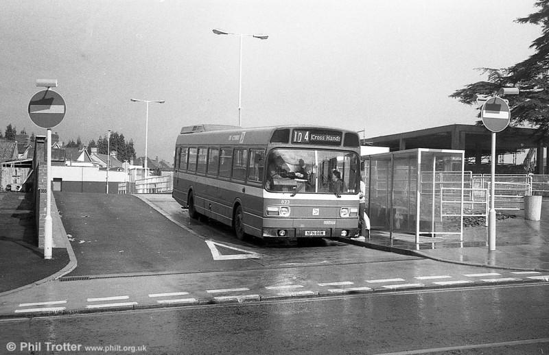 Leyland National B52F 823 (NFN 66M), ex-East Kent 1066 at Ammanford.