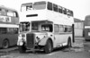 Former Bristol Omnibus 1952 KSW6G/ECW L27/28RD training vehicle 8087 (OHY 934), purchased as a source of spares for WNO 484.