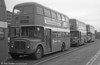 AEC Regent V/Willowbrook H37/27F 881 (GWN 859D) at Swansea during the final tour of February 27th 1982.