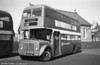 1964 AEC Regent V/Willowbrook H39/32F 855 (ex-605) (438 HCY) in store at Gorseinon.