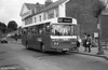 286 (FCY 286W), a 1981 Bedford YMQ/Duple DP45F at Haverfordwest.