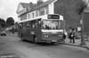 286 (FCY 286W), a 1981 Bedford YMQ/Duple DP45F at Haverfordwest.