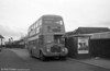 AEC Regent V/Willowbrook H37/27F 869 (CCY 989C) at Llanelli Station during the farewell tour of December 19th 1981.