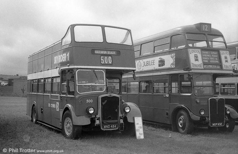 1953 Bristol KSW5G/ECW O33/28R 500 (WNO 484) at Bristol Bus Rally.