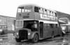 AEC Regent V/Willowbrook H39/32F 566 (6 BWN) at Port Talbot after withdrawal.