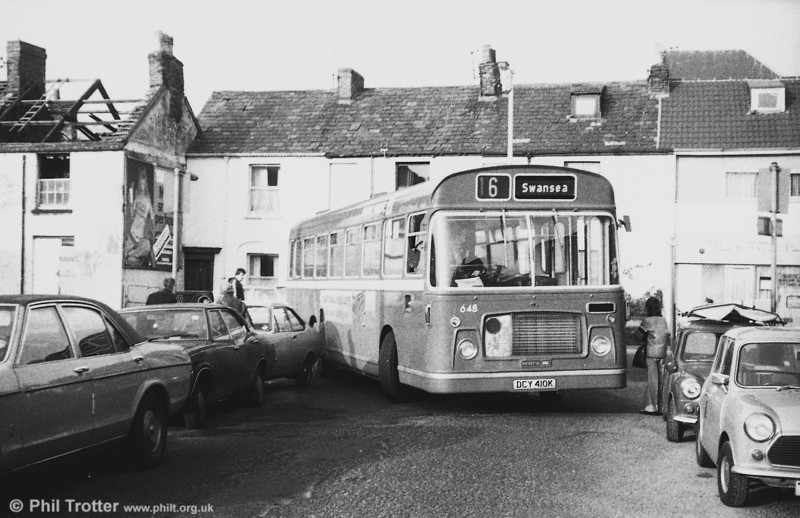 Bristol RELL6G/ECW B53F 648 (DCY 410K)  at Swansea.