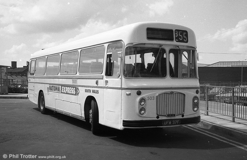 Ex-Crosville 503 (UFM 37F), Bristol RELH6G/ECW C47F.