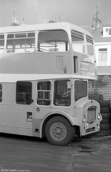 10 (EDV526D) a Bristol FLF6G / ECW H38/32F training vehicle, formerly Western National 2114.