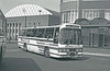 In pre-stadium days, Leyland Leopard PSU5E/Duple C53F 111 (MCY 111X) calls at Cardiff Bus Station.