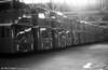 Standardisation: A line up of Bristol VRT SL3/ECW H43/31F at Ravenhill.