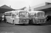 169 and 172 (PRC 208/11F) 1968 Leyland Leopards/Plaxton DP47F purchased for Swansea Park & Ride services.