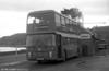 Bristol VRT SL3/ECW H43/31F 941 (VTH 941T) is watered at Oystermouth.