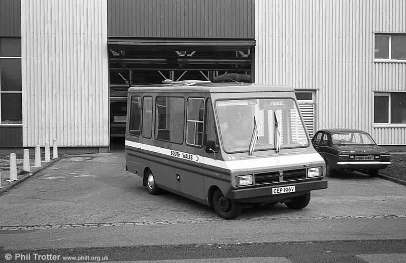 Bedford CF/Reebur DP17F 96 (CEP 196V)