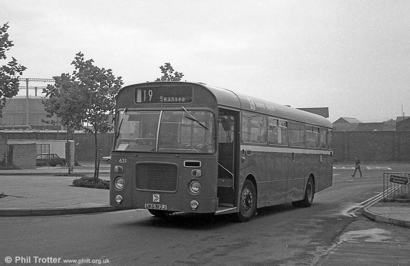 Bristol RELL6L/Marshall B51F 6231(UKG 812J) at Swansea.