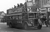1953 Bristol KSW5G/ECW O33/28R 500 (WNO 484) at Ravenhill in action during its winter role as a 'Santabus'.