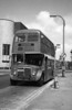 AEC Regent V/Willowbrook H37/27F 820 (CCY 990C) at Llanelli, as towing bus 62.