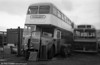 AEC Regent V/Willowbrook H39/32F 568 (8 BWN) at the premises of Morris Bros., Swansea.
