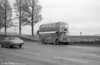 AEC Regent V/Willowbrook H37/27F 859 (CCY 979C) on Mumbles Road.
