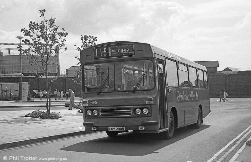 1981 Bedford YMQ/Duple B43F 290 (FCY 290W).