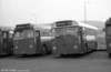 548 (SWN 988), a 1960 AEC Reliance/Park Royal B45F (ex 818) and 421 (DNY 131C), an AEC Reliance/Weymann DP49F, ex-Thomas Bros. at Port Talbot.