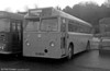 Leyland Tiger Cub/Marshall B45F towing bus 65 (300 CUH) at Haverfordwest. Delivered new to Western Welsh as their 1300 in 1963, the bus spent virtually the whole of its active life at Haverfordwest, becoming SWT 345 when that depot was taken over in 1972.