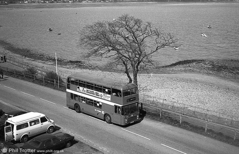 Bristol VRT SL3/ECW H43/31F 943 (WTH 943T) at Mumbles.