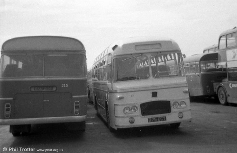 125 (278 ECY), a Bristol MW6G /  ECW C39F, ex United Welsh Services Limited.