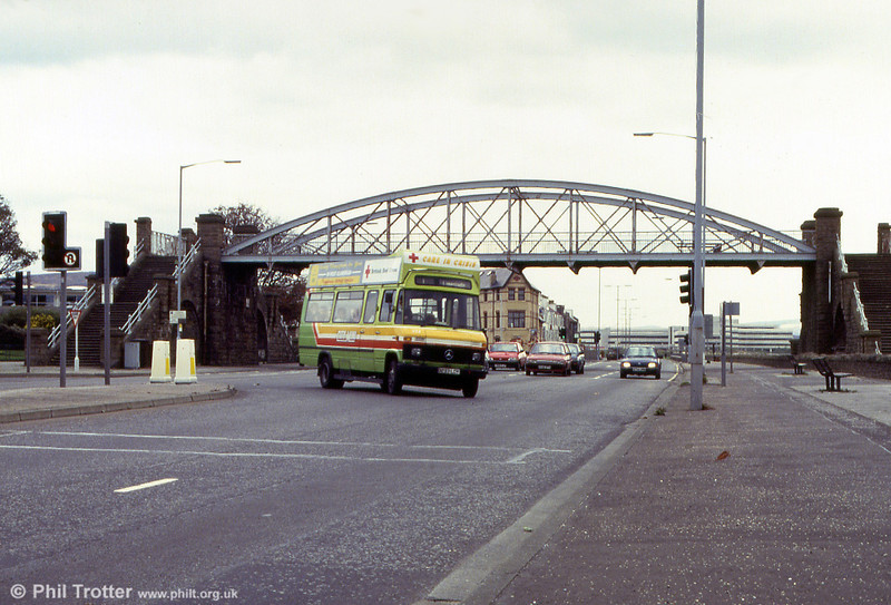 233 at the Slip (St. Helens) Swansea, heading for Mumbles.