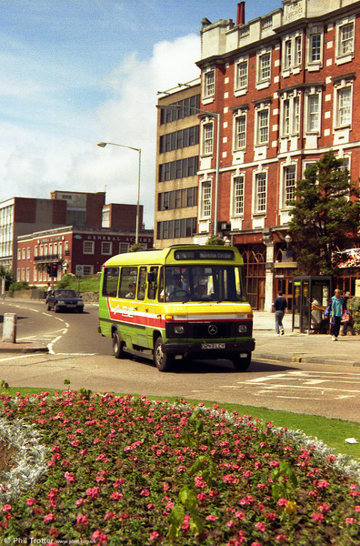 A summer shot of 243 at the YMCA, Swansea
