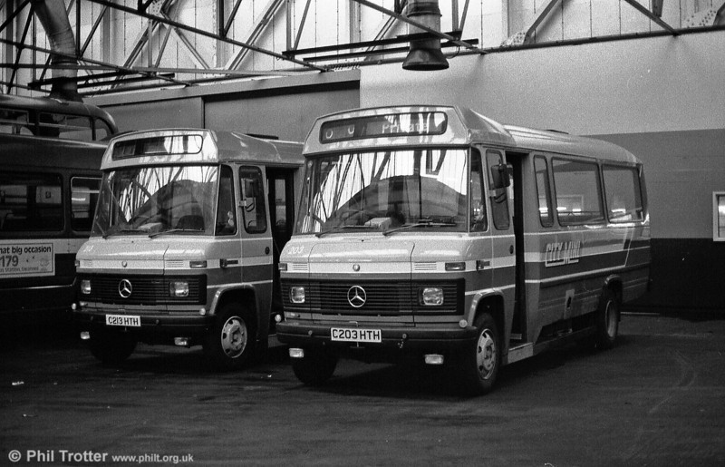 213 and 203 await entry into service in February 1986.
