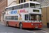 Former SWT Bristol VRT/ECW H43/31F 936 (TWN 936S) seen with First Devon & Cornwall (1229) in March 2002.